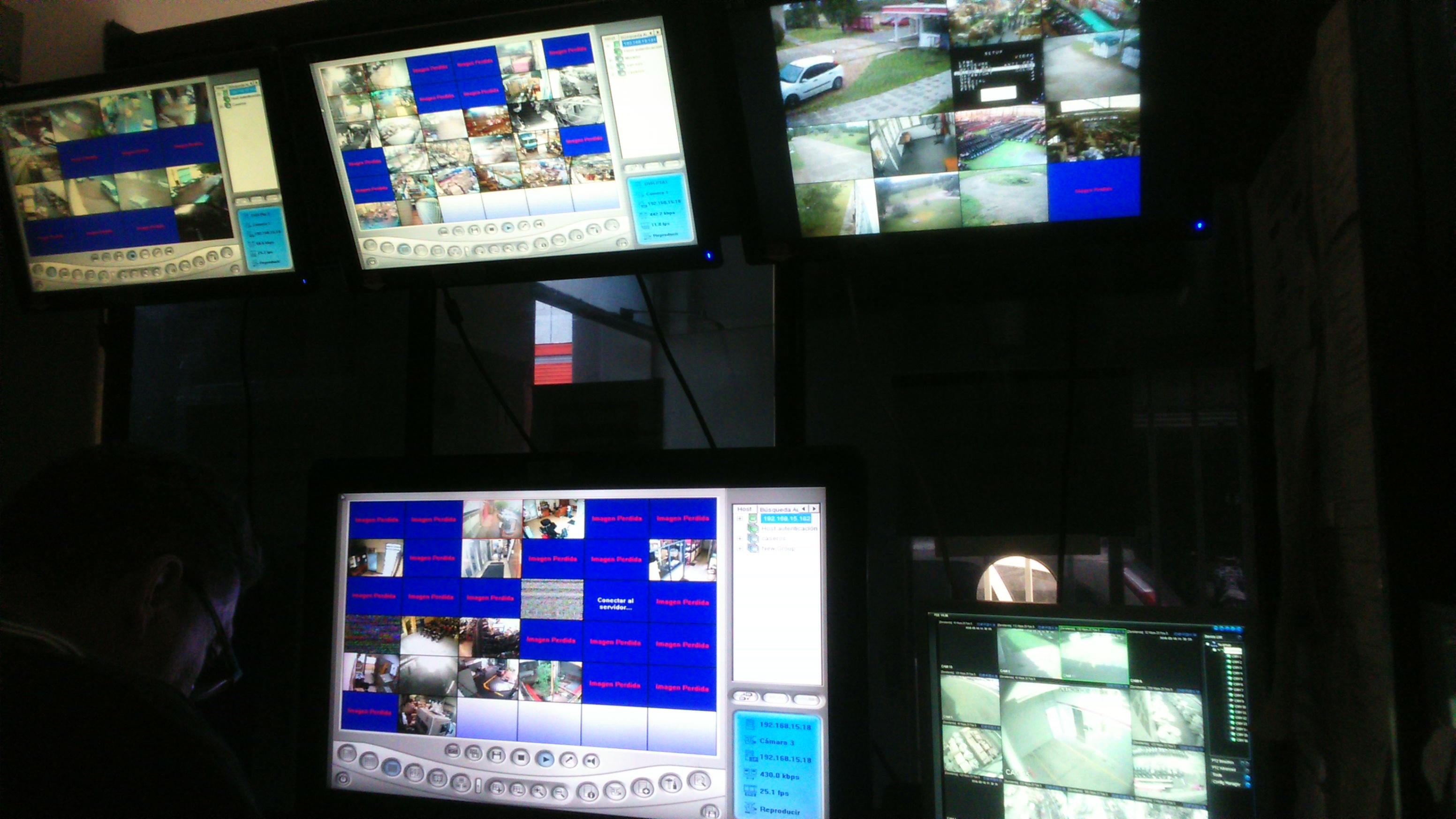 Instalación de cámaras de seguridad en fabricas