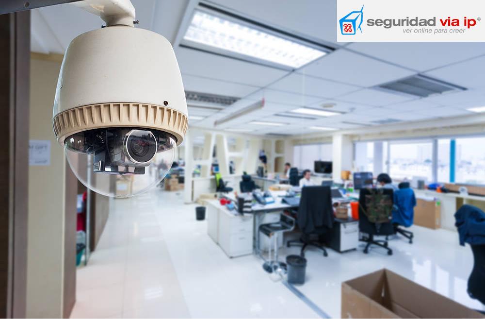 Instalacion de camaras de seguridad en oficinas